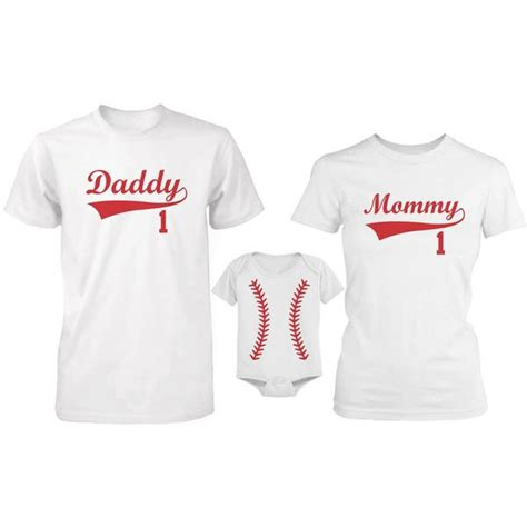 What Stores Sell Matching Shirts And Baby Matching Baseball Family T Shirt