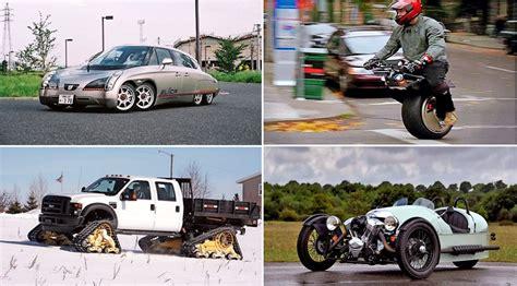 best wheels car the car top 10 strange wheel configurations by car magazine