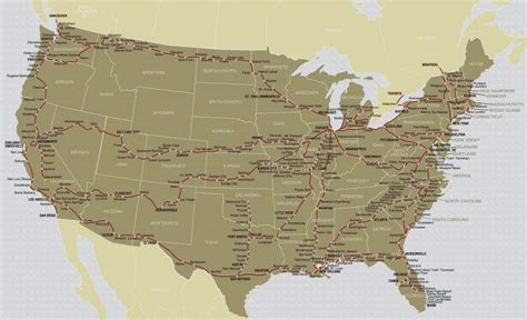 Map Of Amtrak Stations by Amtrak Map Related Keywords Amp Suggestions Amtrak Map