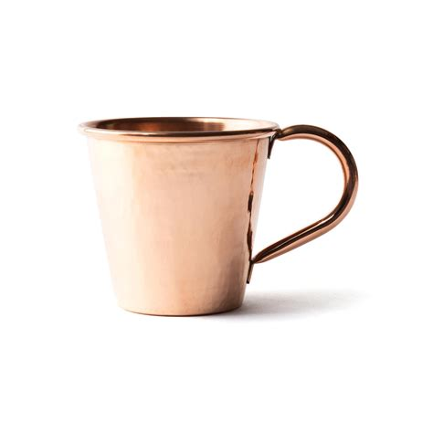 hammered copper mugs marcellin hammered copper moscow mule mug bespoke post
