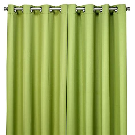 bed bath and beyond outdoor curtains buy commonwealth home fashions 96 inch gazebo outdoor