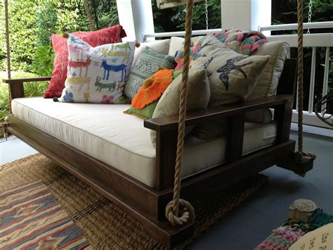 bed that swings bed swing front porch swing southern tradition