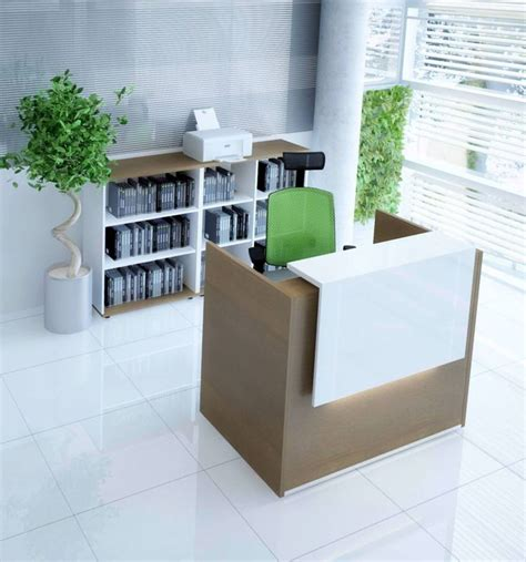 small desk area ideas best small reception desk ideas on salon