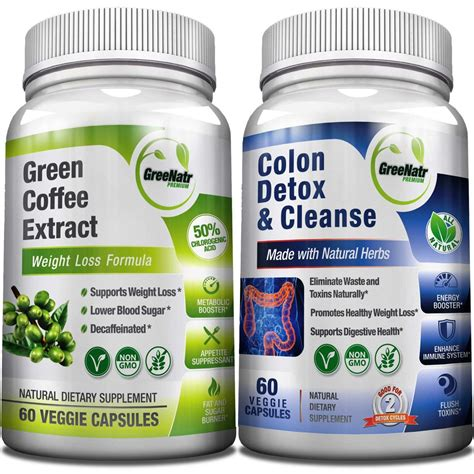 Detox Cleanse With Coffee by Weight Loss And Detox Bundle Greenatr Premium