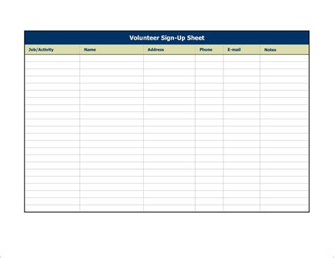 stin up templates 4 sign up sheet templates teknoswitch