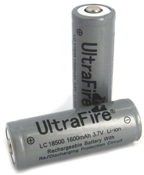 Baterai Ultrafire 3 7v 4000mah Ultrafire 1600mah 3 7v Protected Rechargeable Li Ion