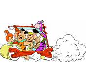 Flintstones Car Free Clipart