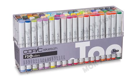 Copic Set 72 Sketch A copic marker 72 sketch set a tipped artist markers anime comic ebay