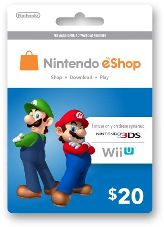 Eshop Gift Card - nintendo eshop gift cards official site buy codes online