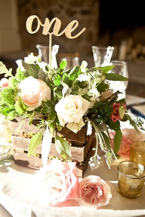 Rustic Chic Summer Wedding By Dawn Joseph Photography Rustic Wedding Table Centerpieces