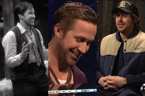 emma stone ryan gosling snl saturday night live ryan gosling is once more terrible at