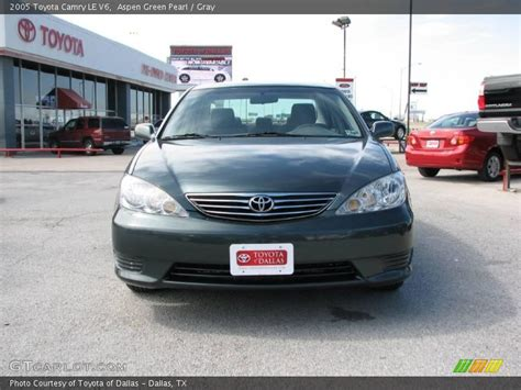 2005 Toyota Camry Le V6 2005 Toyota Camry Le V6 In Aspen Green Pearl Photo No