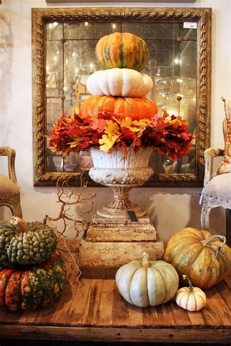 Pumpkin Tower Decoration by 1000 Images About Seasonal Ideas On