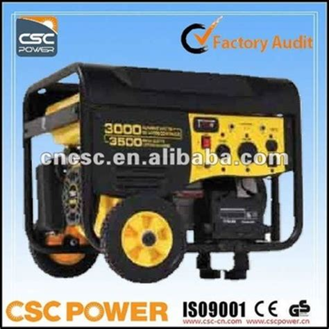 5kw cscpower 5kw generator powered gas for home