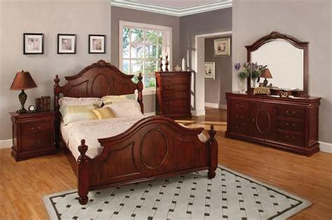 cherry bedroom furniture queen king bedroom sets