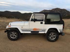 buy car manuals 1992 jeep wrangler user handbook 1992 jeep wrangler islander 4 0l 5spd hardtop 158k rust free white for sale photos technical