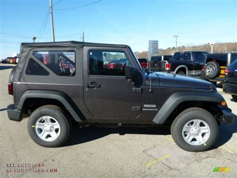 jeep metallic 2014 jeep wrangler sport 4x4 in granite metallic photo 6
