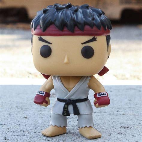 Funko Pop Set Promotion Asia Fighter 7 Items funko pop asia fighter series 1 ryu white