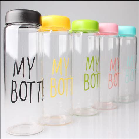 My Bottle Polos meine flasche aus korea glas trinkflasche 480 ml glas
