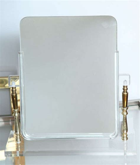 vintage acrylic vanity mirror at 1stdibs