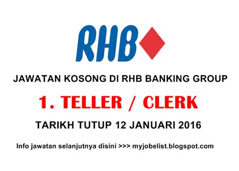 rhb bank internship temuduga terbuka di rhb banking 12 januari 2016