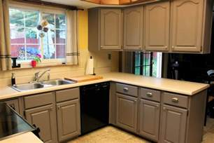 Repaint Kitchen Cabinet by 645 Workshop By The Crafty Cpa Work In Progress Painting
