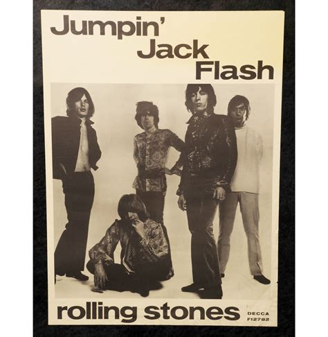 tutorial jumpin jack flash the rolling stones jumpin jack flash promo poster