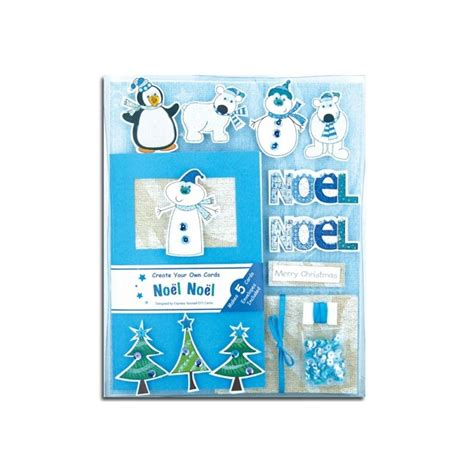 make your own card box create your own cards box kit noel noel