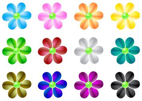 imagenes de flores vectorizadas vectores de flores efecto cristal imagenes