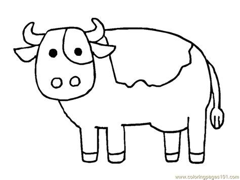 coloring pages cow cow coloring page coloring pages
