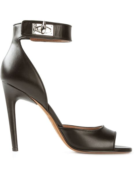 givenchy sandals givenchy clara sandals in black lyst