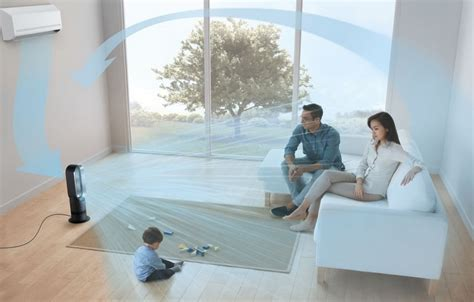 best way to cool a room with fans dyson am09 cool fan heater is the prettiest way to