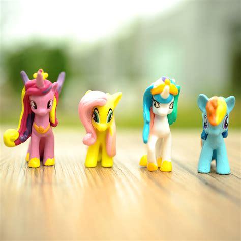 figure pony isi 12pcs mini lot 12pcs my pony friendship is magic cake