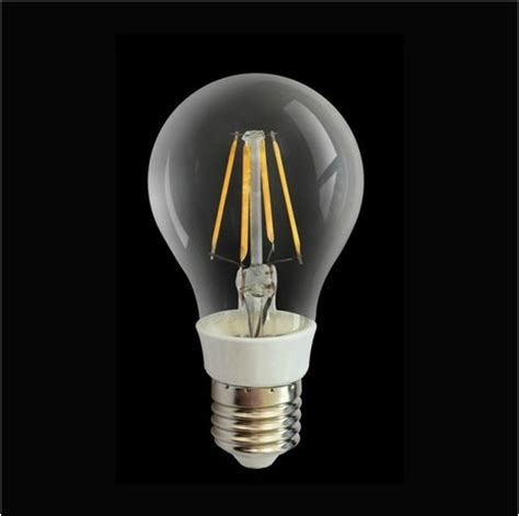Led Light Bulb Technology New Technology Filament Led Chip Globe Bulb L 6w 120v 220v E27 Glass Clear Cover Warm Cool