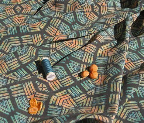 block print african green and orange wallpaper block print african green and orange fabric koalalady
