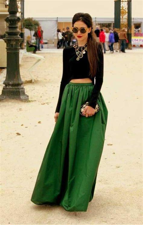 Looks Stylish Traditions To Addict Maxi Skirts In Winter 2014 2015   9 looks que prueban que puedes usar una maxi falda este