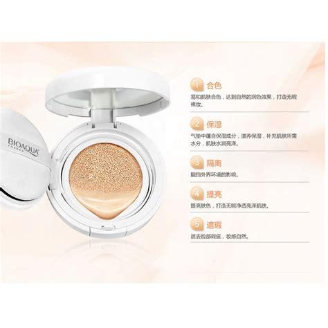 Bioaqua Brightening Liquid Air Cushion Makeup Bb Foundation bioaqua brightening liquid bb air cushion makeup 15g