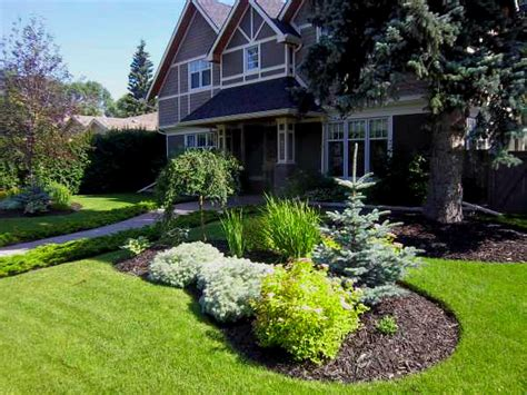 front yard garden landscaping ideas simple house designs