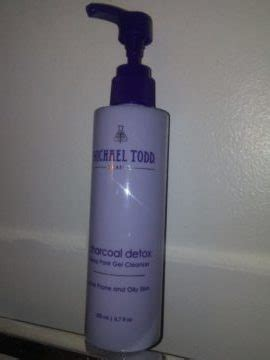 Michael Todd Charcoal Detox Reviews by Michael Todd Charcoal Detox Pore Gel Cleanser Review