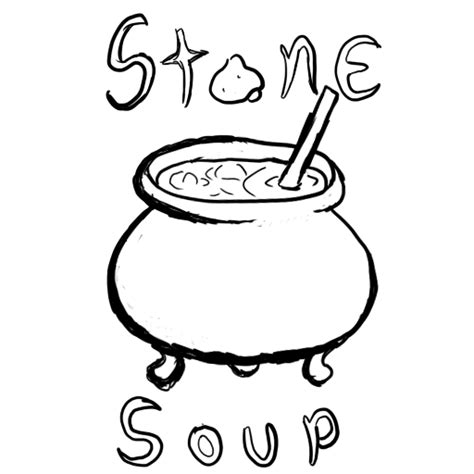 stone soup coloring pages coloring home