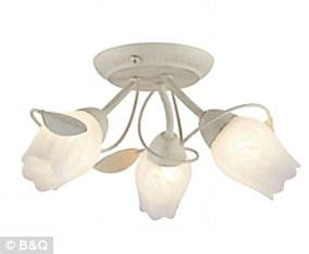b q issues recall alert to customers light fittings