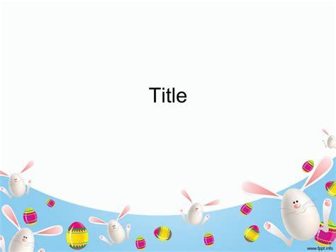 cute powerpoint templates free download easter powerpoint