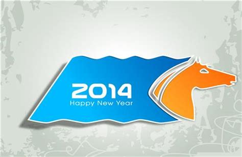 happy new year 2014 themes download for windows 7 happy new year 2014 photos in horse theme hd wallpapers