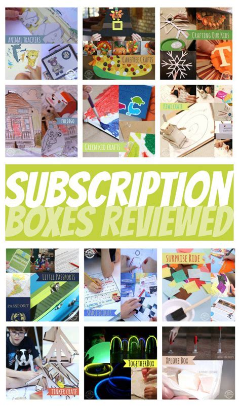 craft box subscription for 12 subscription craft boxes for compared