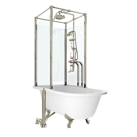 freestanding shower bath arcade royal freestanding bath shower temple right