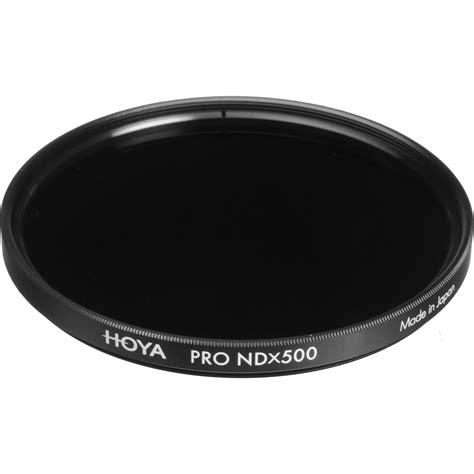 hoya 62mm prond500 filter xpd 62nd500 b h photo