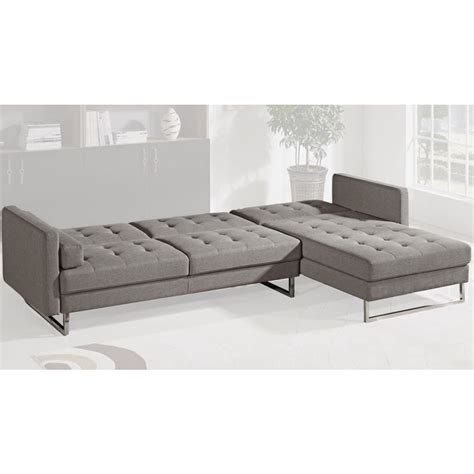 futon office double star furniture keri fabric futon corner set grey