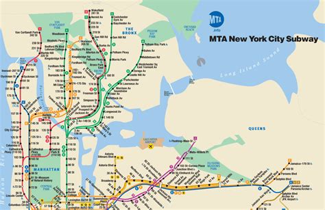 ny city subway map maps myth weavers