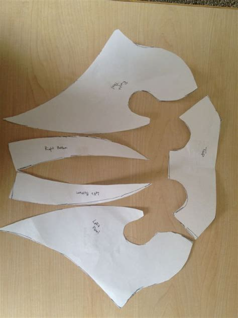 plague doctor mask template plague doctor mask