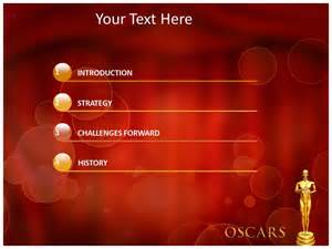 award powerpoint template oscar awards powerpoint template powerpoint background